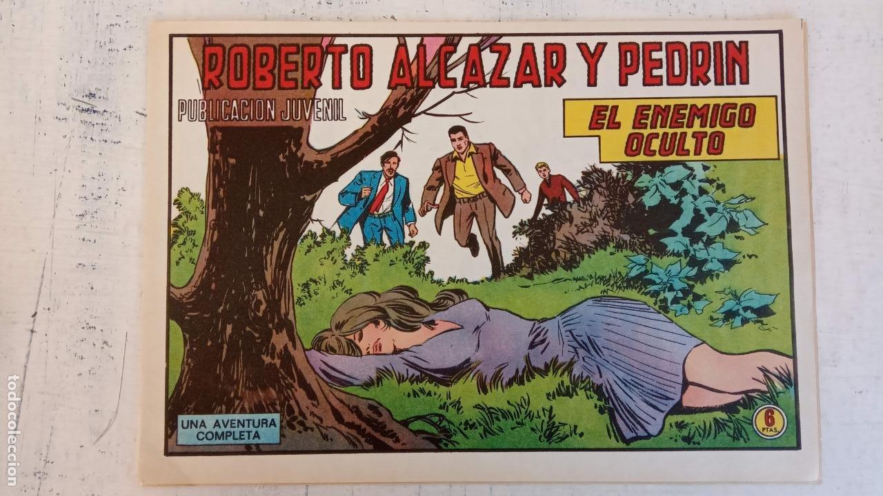 ROBERTO ALCAZAR Y PEDRIN ORIGINAL Nº 1188 - EL ENEMIGO OCULTO - NUEVO (Tebeos y Comics - Valenciana - Roberto Alcázar y Pedrín)