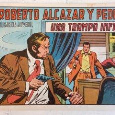 Tebeos: ROBERTO ALCAZAR Y PEDRIN ORIGINAL Nº 1186 - UNA TRAMPA INFAME - MUY NUEVO. Lote 186361798