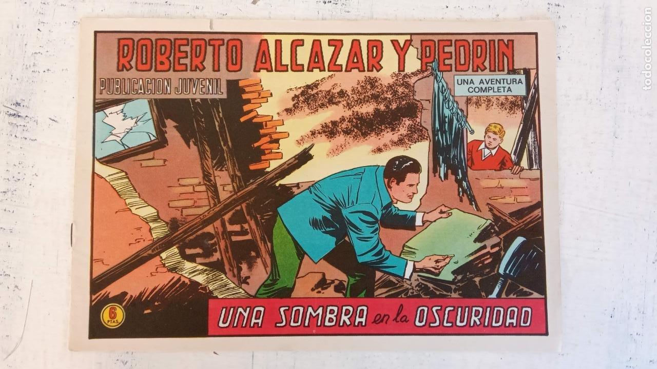 ROBERTO ALCAZAR Y PEDRIN ORIGINAL Nº 1182 - UNA SOMBRA EN LA OSCURIDAD - MUY NUEVO (Tebeos y Comics - Valenciana - Roberto Alcázar y Pedrín)