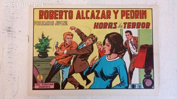 ROBERTO ALCAZAR Y PEDRIN ORIGINAL Nº 1131 - HORAS DE TERROR - NUEVO (Tebeos y Comics - Valenciana - Roberto Alcázar y Pedrín)