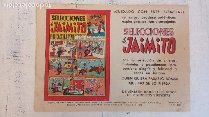 Tebeos: ROBERTO ALCAZAR Y PEDRIN ORIGINAL Nº 1070 - LA CARTERA AMARILLA - MUY NUEVO - Foto 2 - 186362440