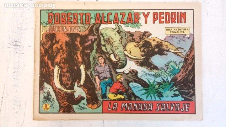 ROBERTO ALCAZAR Y PEDRIN ORIGINAL Nº 1059 - LA MANADA SALVAJE (Tebeos y Comics - Valenciana - Roberto Alcázar y Pedrín)