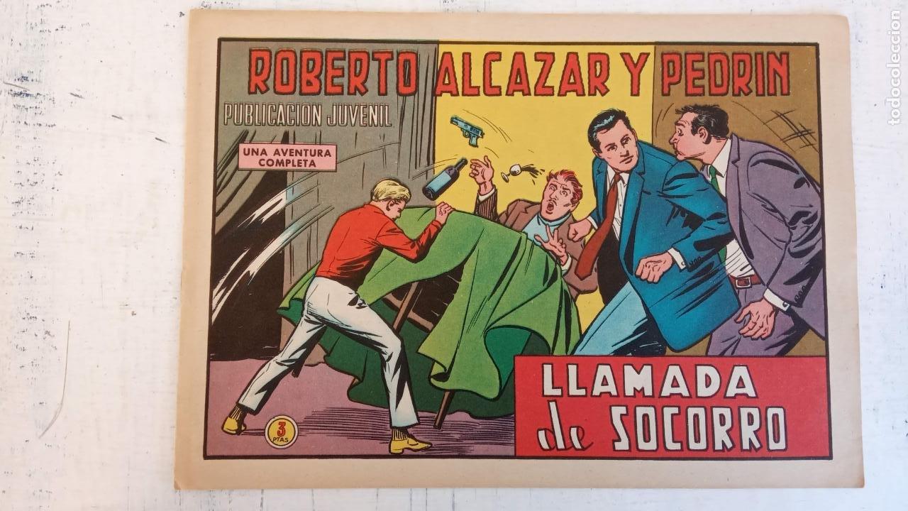 ROBERTO ALCAZAR Y PEDRIN ORIGINAL Nº 1000 - LLAMADA DE SOCORRO (Tebeos y Comics - Valenciana - Roberto Alcázar y Pedrín)