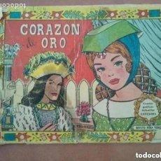 Tebeos: CORAZON DE ORO. VALENCIANA. CUENTOS GRAFICOS INFANTILES CASCABEL. 1958. Lote 186401831
