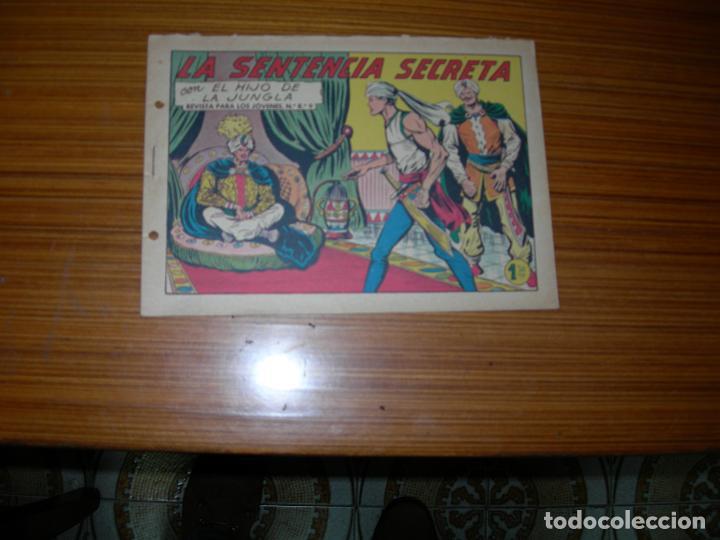 EL HIJO DE LA JUNGLA Nº 34 EDITA VALENCIANA (Tebeos y Comics - Valenciana - Hijo de la Jungla)