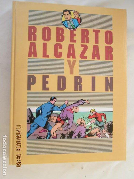ROBERTO ALCAZAR Y PEDRIN - TOMO I - EDUARDO VAÑÓ - CARBONELL BARTRA - 1997. (Tebeos y Comics - Valenciana - Roberto Alcázar y Pedrín)