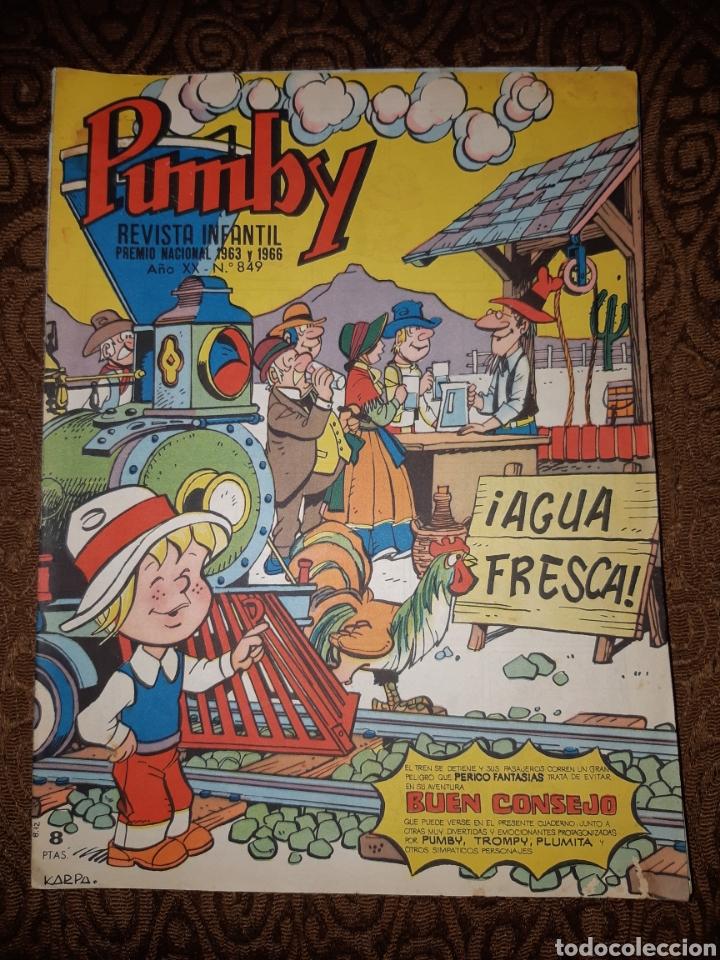 TEBEOS-CÓMICS CANDY - PUMBY 849 - VALENCIANA - AA98 (Tebeos y Comics - Valenciana - Pumby)
