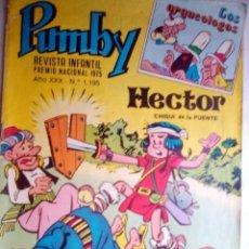 Tebeos: PUMBY -REVISTA INFANTIL - Nº 1195 -HÉCTOR DE CHIQUI-EDGAR-SIFRE-ROBERT-1984 -CORRECTO-DIFÍCIL-2544. Lote 187512820