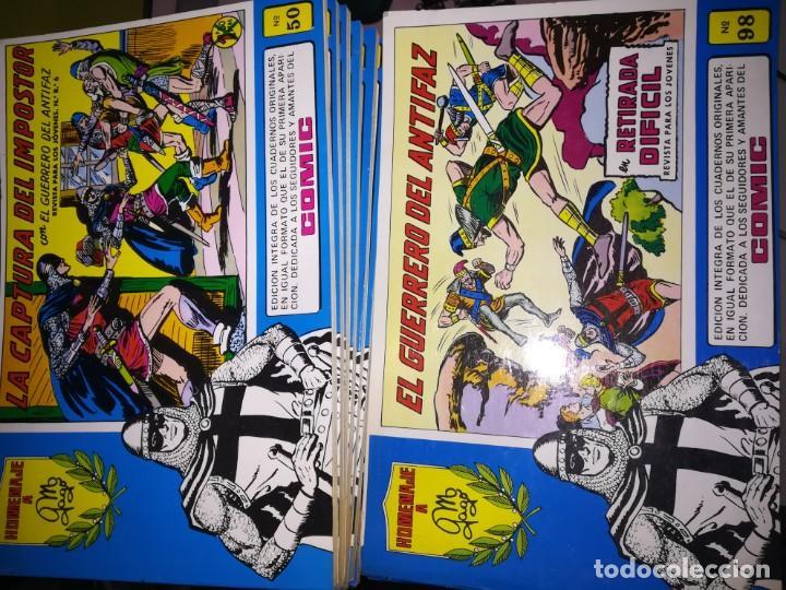Tebeos: EL GUERRERO DEL ANTIFAZ - VALENCIANA, COMPLETA 98 ejemplares EDIC. 1981 A 1983 - REF UR EST - Foto 2 - 188489103