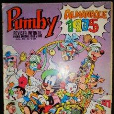 Tebeos: PUMBY 890 - ALMANAQUE 1975 - VALENCIANA 1974. Lote 188540536