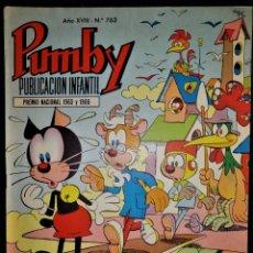 Tebeos: PUMBY 762 - VALENCIANA 1972 ''COMO NUEVO''. Lote 188542287