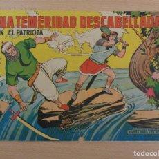 Tebeos: EL PATRIOTA NÚM. 14. ORIGINAL. EDITA VALENCIANA. PORTADA MEDIO SUELTA. Lote 188629018