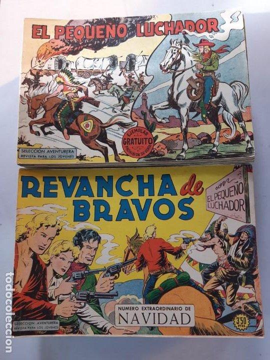 EL PEQUEÑO LUCHADOR ORIGINAL COMPLETA EXCELENTE ESTADO VER DETALLES (Tebeos y Comics - Valenciana - Pequeño Luchador)
