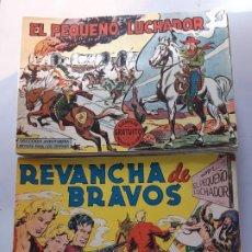 Tebeos: EL PEQUEÑO LUCHADOR ORIGINAL COMPLETA EXCELENTE ESTADO VER DETALLES. Lote 188713955