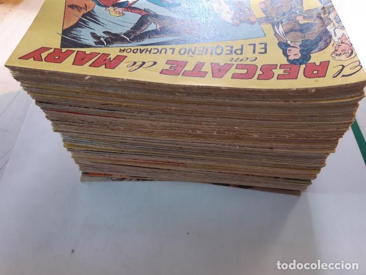 Tebeos: EL PEQUEÑO LUCHADOR ORIGINAL COMPLETA EXCELENTE ESTADO VER DETALLES - Foto 3 - 188713955