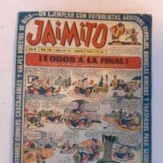 Tebeos: JAIMITO Nº 248 EDITORIAL VALENCIANA. Lote 189164100