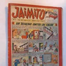 Tebeos: JAIMITO-Nº242-EDITORIAL VALENCIANA. Lote 189164213