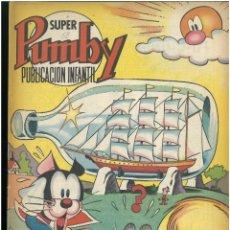 Tebeos: SUPER PUMBY Nº 58. EDITORIAL VALENCIANA 1969. C-15. Lote 189220875