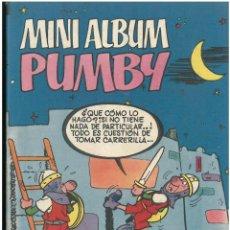 Tebeos: MINI ALBUM PUMBY Nº 18. EDITORIAL VALENCIANA 1984. C-15. Lote 189228525
