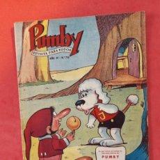 Tebeos: PUMBY-Nº 76 -EXCELENTE ESTADO-. Lote 189258847