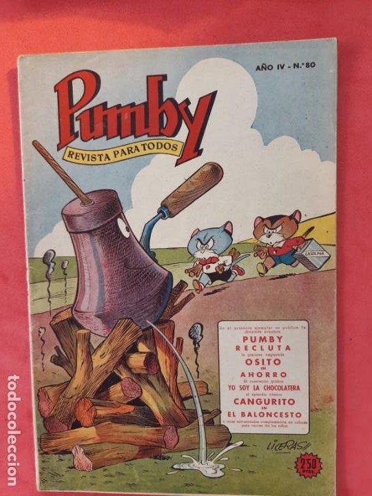 PUMBY Nº 80 EXCELENTE ESTADO (Tebeos y Comics - Valenciana - Pumby)