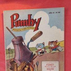 Tebeos: PUMBY-Nº 80-EXCELENTE ESTADO-. Lote 189258965
