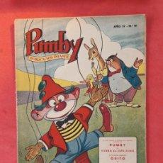 Tebeos: PUMBY-Nº 81-EXCELENTE ESTADO-. Lote 189259002