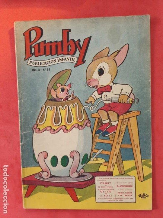 PUMBY Nº 83 EXCELENTE ESTADO (Tebeos y Comics - Valenciana - Pumby)