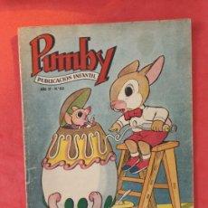 Tebeos: PUMBY Nº 83 EXCELENTE ESTADO. Lote 189259106