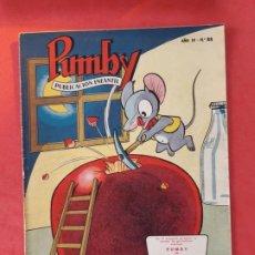 Tebeos: PUMBY Nº 88 EXCELENTE ESTADO. Lote 189259377