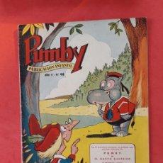 Tebeos: PUMBY-Nº 98-EXCELENTE ESTADO-. Lote 189259827