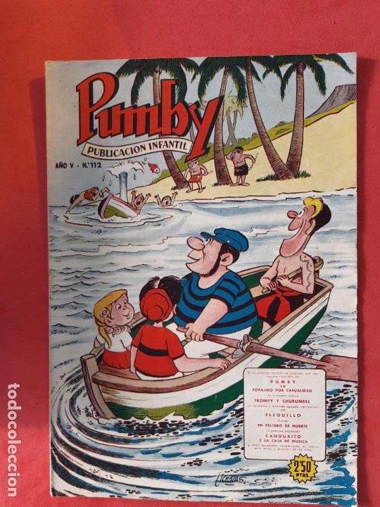 PUMBY Nº 112 EXCELENTE ESTADO (Tebeos y Comics - Valenciana - Pumby)