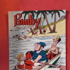 Tebeos: PUMBY Nº 112 EXCELENTE ESTADO. Lote 189260432