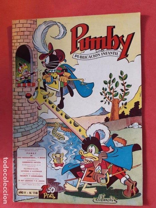 PUMBY Nº 118 EXCELENTE ESTADO (Tebeos y Comics - Valenciana - Pumby)