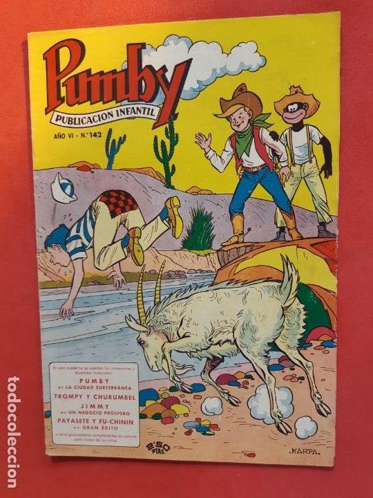 PUMBY Nº 142 EXCELENTE ESTADO (Tebeos y Comics - Valenciana - Pumby)
