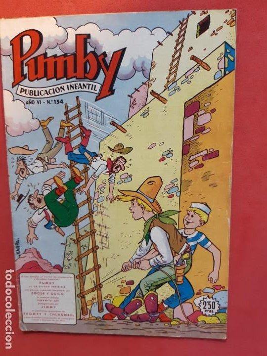 PUMBY Nº 154 EXCELENTE ESTADO (Tebeos y Comics - Valenciana - Pumby)