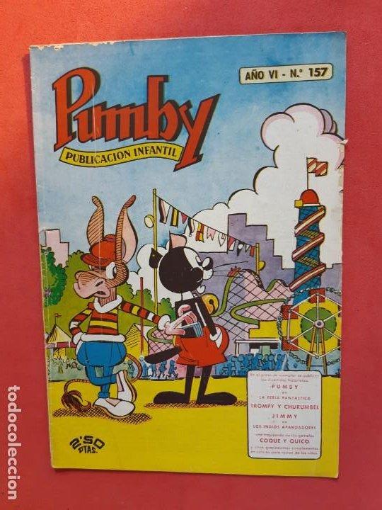 PUMBY Nº 156 EXCELENTE ESTADO (Tebeos y Comics - Valenciana - Pumby)