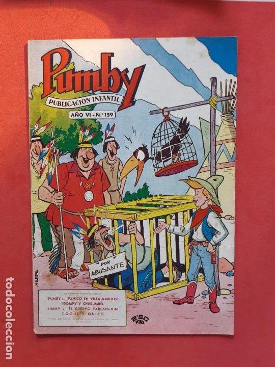 PUMBY Nº 159 EXCELENTE ESTADO (Tebeos y Comics - Valenciana - Pumby)