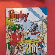 Tebeos: PUMBY Nº 159 EXCELENTE ESTADO. Lote 189262895