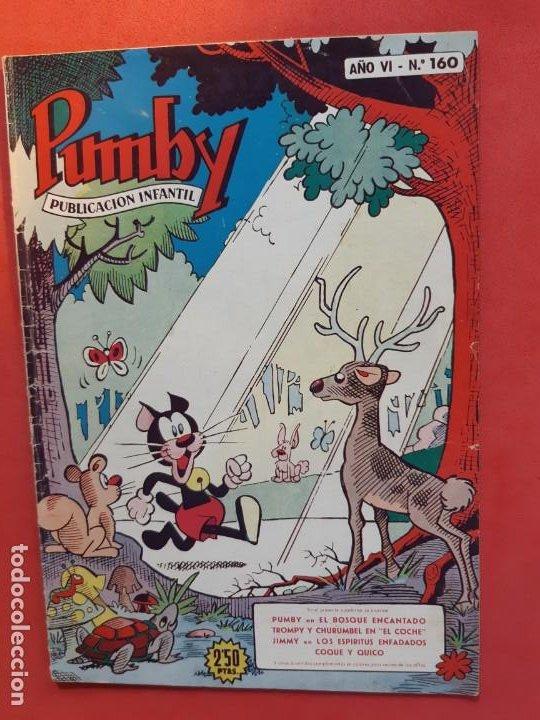 PUMBY-Nº 160-EXCELENTE ESTADO- (Tebeos y Comics - Valenciana - Pumby)