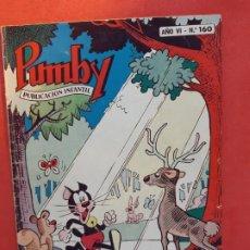 Tebeos: PUMBY Nº 160 EXCELENTE ESTADO. Lote 189262931