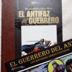 Tebeos: EL ANTIFAZ DEL GUERRERO + LAS HISTORIAS JAMÁS CONTADAS , MANUEL GAGO , SIN LEER , IMPECABLES. Lote 189268593