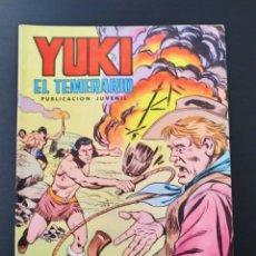 Tebeos: CASI EXCELENTE ESTADO YUKI EL TEMERARIO 20 SELECCION AVENTURA EDIVAL VALENCIANA. Lote 189327216
