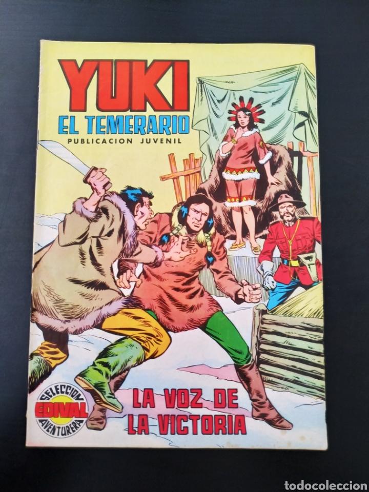 CASI EXCELENTE ESTADO YUKI EL TEMERARIO 22 SELECCION AVENTURA EDIVAL VALENCIANA (Tebeos y Comics - Valenciana - Selección Aventurera)