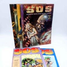 Livros de Banda Desenhada: SOS REVISTA DE TERROR. II ÉPOCA. LOTE NºS 49 50 51 53 54 55 01 02 (VVAA) VALENCIANA, 1983. OFRT. Lote 272159333