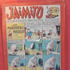Tebeos: JAIMITO Nº 315 EXCELENTE ESTADO. Lote 189350725