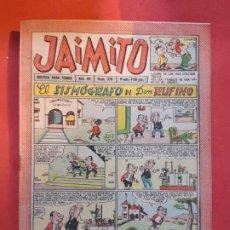 Tebeos: JAIMITO-Nº378--EXCELENTE ESTADO. Lote 189353683