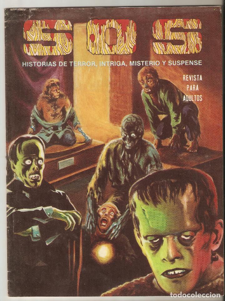S.O.S - Nº 51 - SOS - 1983 - EDITORIAL VALENCIANA, S. A.- (Tebeos y Comics - Valenciana - S.O.S)