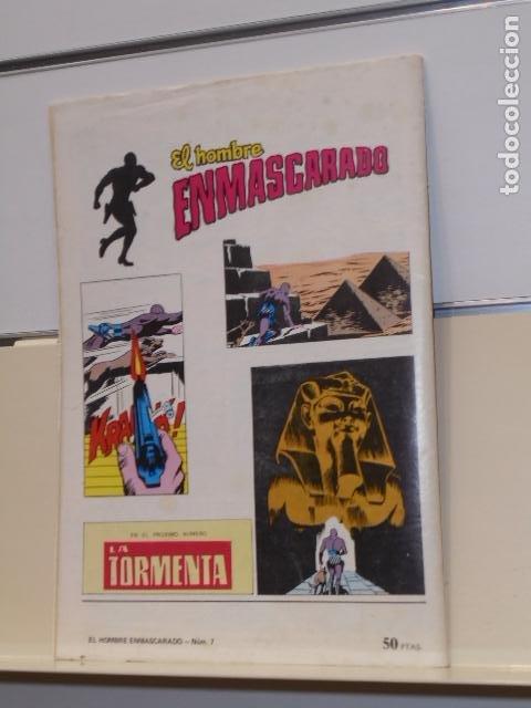 Tebeos: EL HOMBRE ENMASCARADO Nº 7 LA FORTALEZA INEXPUGNABLE - VALENCIANA - Foto 2 - 189627676