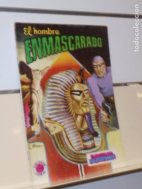 EL HOMBRE ENMASCARADO Nº 7 LA FORTALEZA INEXPUGNABLE - VALENCIANA (Tebeos y Comics - Valenciana - Colosos del Comic)
